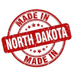 Made in north dakota vector