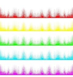 Musical bar showing volume vector