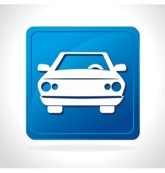 Parking or park zone design vector