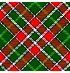 tartan plaid vector image