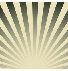 Vintage striped poster vector