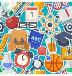 School background concept vector image