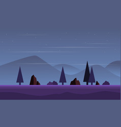 Collection game background landscape mountain vector