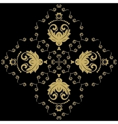 Elegant ornament in the style of barogue vector
