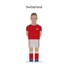 Football kit switzerland vector