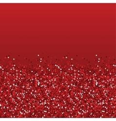 Glitter red texture vector