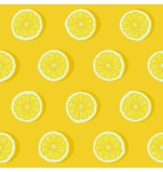 lemon seamless pattern vector image vector image