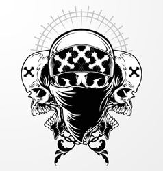 Skull Graphic vector image vector image