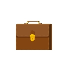 Briefcase isolated on white vector