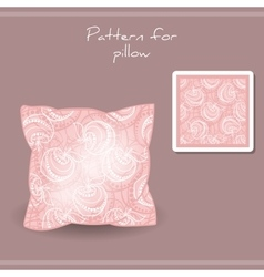 Patternpillow vector