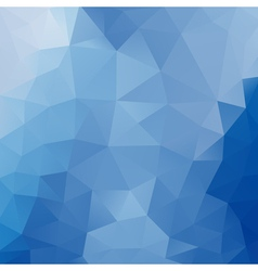 Blue polygonal background vector