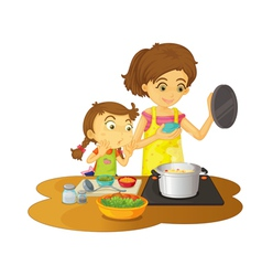 Cooking vector image