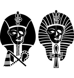 Egyptian symbol of death vector