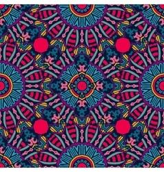 Festive Colorful geometric seamless pattern vector image