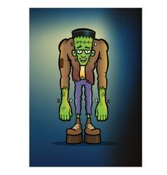 Frankenstein monster vector