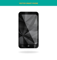 Crystal smart phone vector