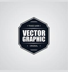 Original premium label retro theme badge emblem vector