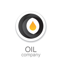 Oil company vector