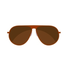 Summer sunglasses isolated on white vector