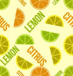 citruspattern vector image vector image
