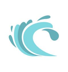 seaway icon cartoon style vector image vector image