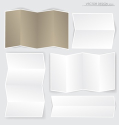 Collection of various papers ready for your messag vector image