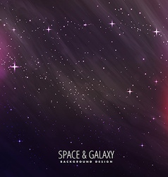 Star night space background vector
