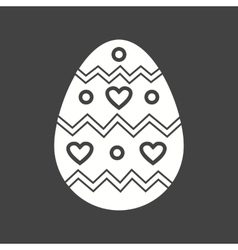 Easter egg iii vector