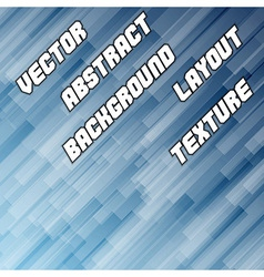 Blue Diagonal Background vector image vector image