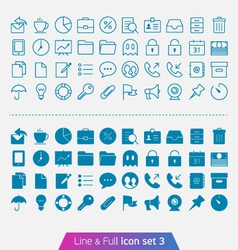 Business and office set 3 vector