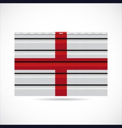 England siding produce company icon vector image vector image