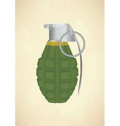 Grenade icon vector image