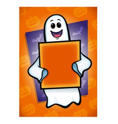 Halloween ghost vector