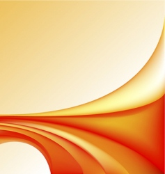 hot waves vector image
