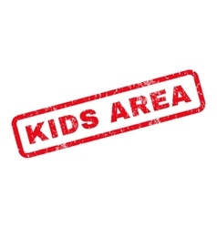 Kids Area Rubber Stamp vector image vector image
