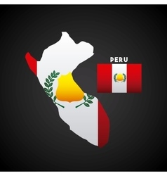 peru country design vector image