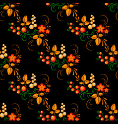 russian folk painting vector image vector image