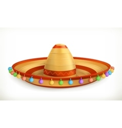 Sombrero icon vector