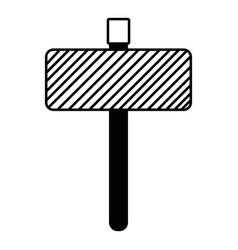 Contour metal emblem notices to know signals vector