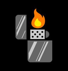 Lighter icon vector