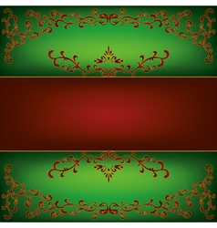 Vintage luxury background vector image