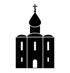 Orthodox church icon vector