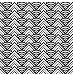 Abstract round pattern seamless vector