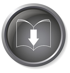 Ebook download button vector