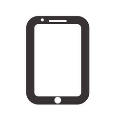 Black nice smartphone symbol icon design vector