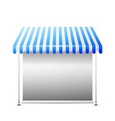 Disolated business stall vector