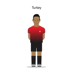 Football kit turkey vector