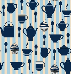 Teatime background - vector