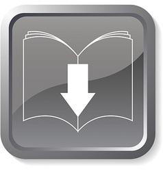 Ebook download button vector