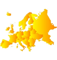 Europe vector image